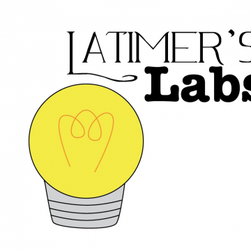 latimer's lab logo